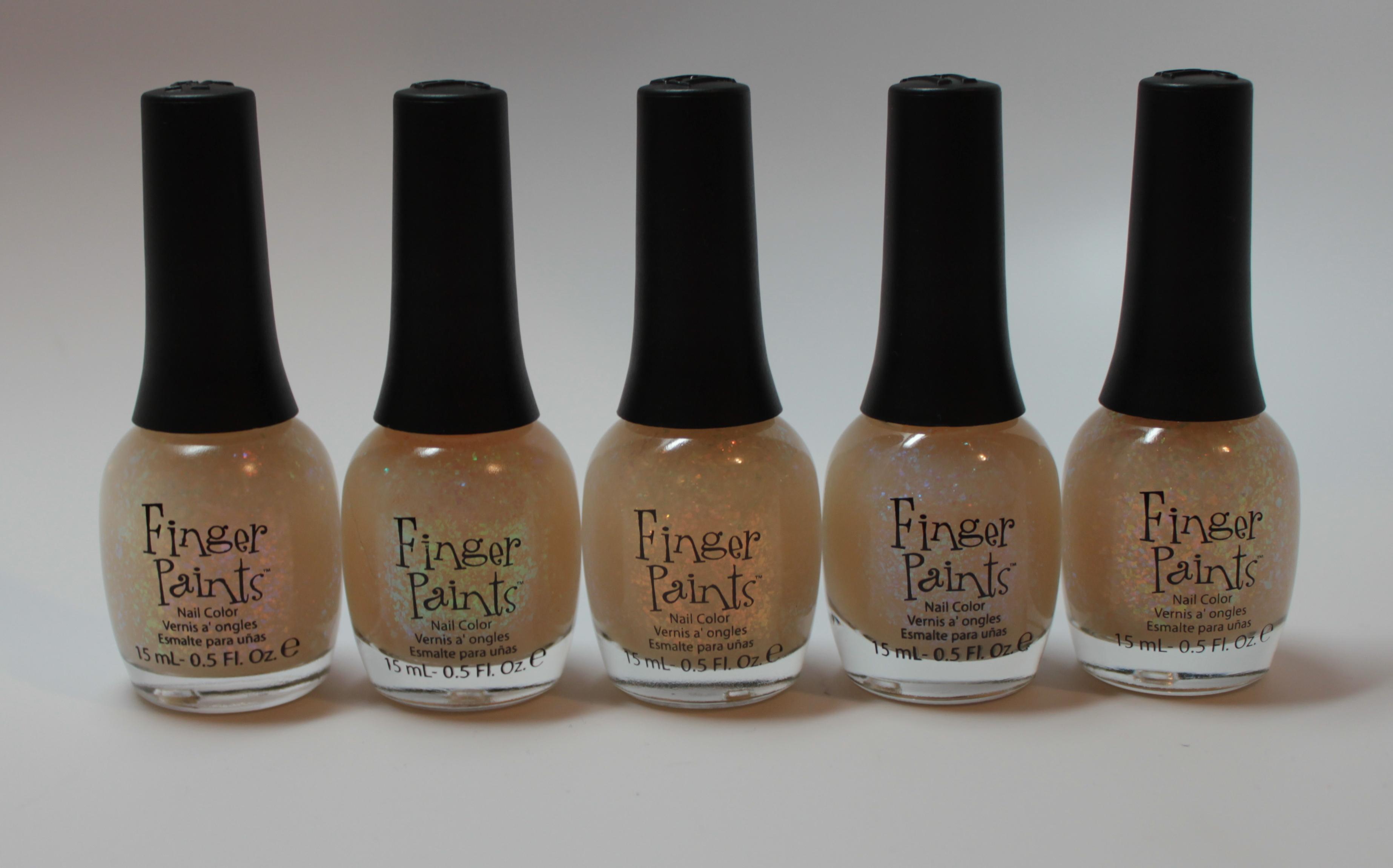 Finger Paints L-R: Asylum, Flecked, Flashy, Motley, Twisted